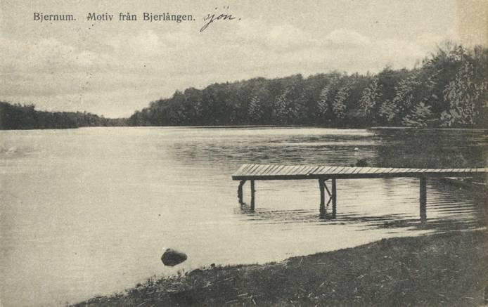 Brygga vid Bjärlången